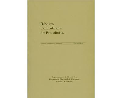 Revista Colombiana de Estadística.  Vol. 33 No. 1