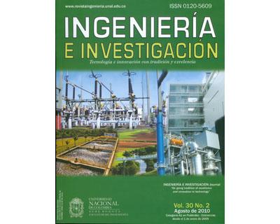 Ingeniería e Investigación Vol. 30 No. 2