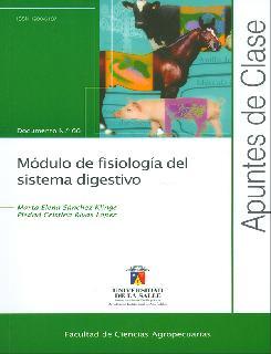 Módulo de fisiología del sistema digestivo. Apuntes de clase No. 66