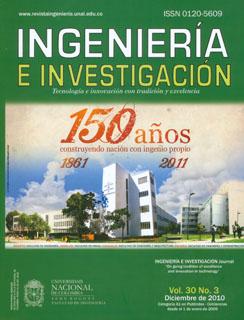 Ingeniería e Investigación Vol. 30 No. 3