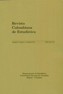 Revista Colombiana de Estadística. Vol. 33 No. 2