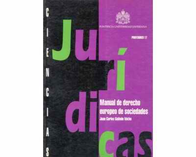 Manual de derecho europeo de sociedades