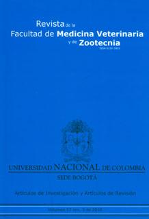 Revista de la Facultad de Medicina Veterinaria y de Zootecnia. No. 3. Vol. 57