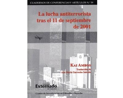 La lucha antiterrorista tras el 11 de septiembre de 2001