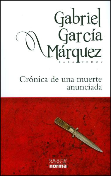 libro de cronica de una muerte anunciada: