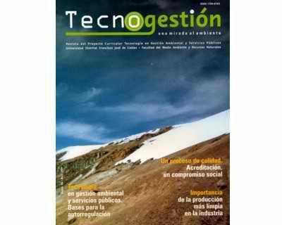 Tecnogestión Vol. 1 No. 1 - Proyecto Curricular Tecnología en Gestión Ambiental y Servicio