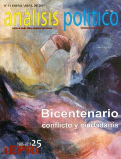 Análisis Político No. 71. Bicentenario conflicto y ciudadanía