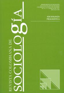 Revista colombiana de sociología. Vol 34. No. 1