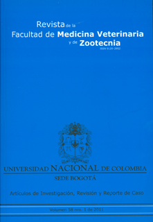Revista de medicina veterinaria y de zootecnia. Vol 58. No. 1