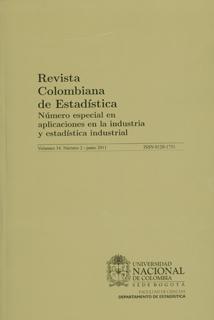 Revista Colombiana de Estadísitica. Vol. 34 No. 2