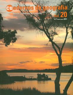Cuadernos de geografía. Vol. 20. No. 1