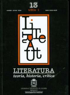 Literatura. Teoría, Historia, Crítica. Vol.13. No.1