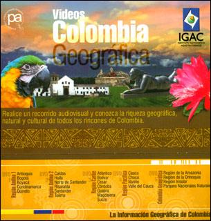Videos Colombia geográfica (Regiones Andina I y II, Pacífica, Caribe, Colombia geográfica)