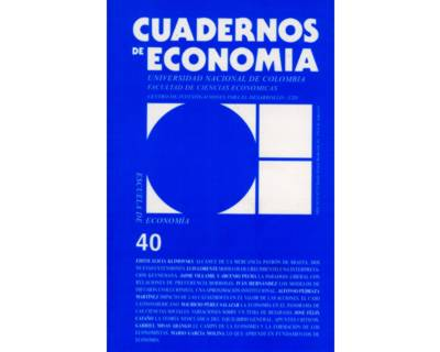 Cuadernos de Economía No. 40