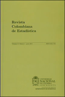 Revista Colombiana de Estadística. Vol. 35 No. 1