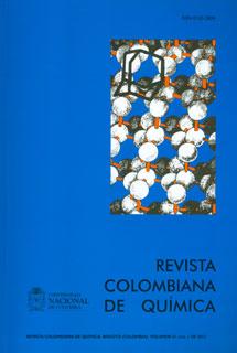Revista colombiana de química. Vol 41 No. 1