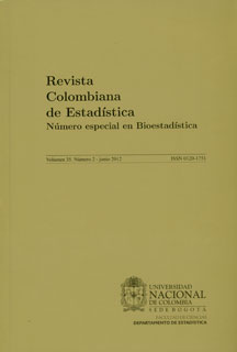 Revista Colombiana de Estadística. Vol. 35 No. 2