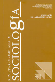 Revista colombiana de sociología. Vol. 35. No. 1