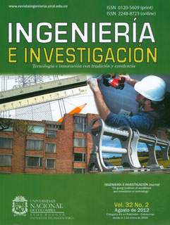 Ingeniería e Investigación Vol.32 No.2