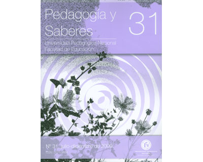 Revista pedagogía y saberes No. 31