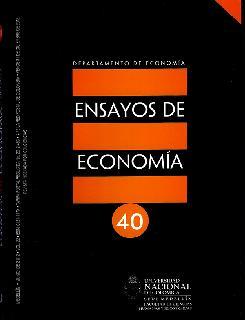 Ensayos de economía. No. 40