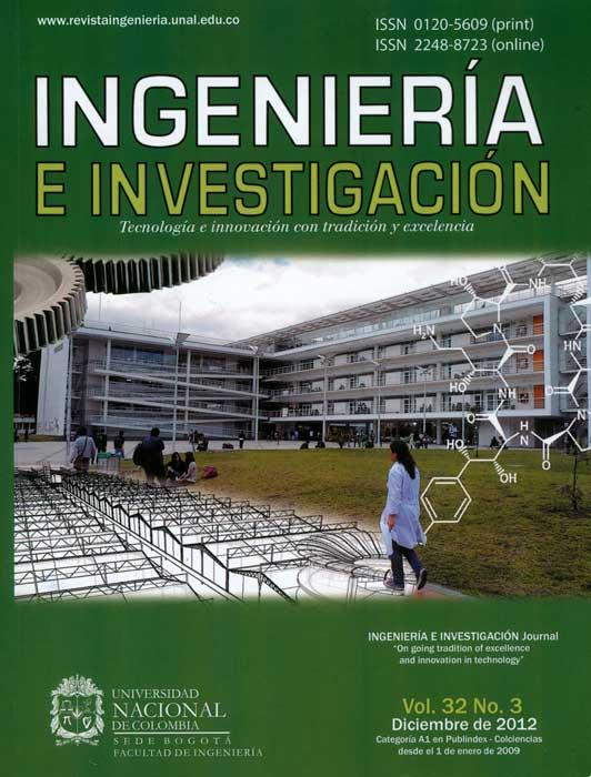 Ingeniería e Investigación Vol.32 No.3