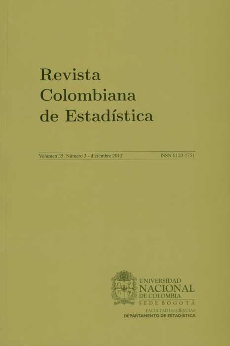 Revista Colombiana de Estadística. Vol. 35 No. 3