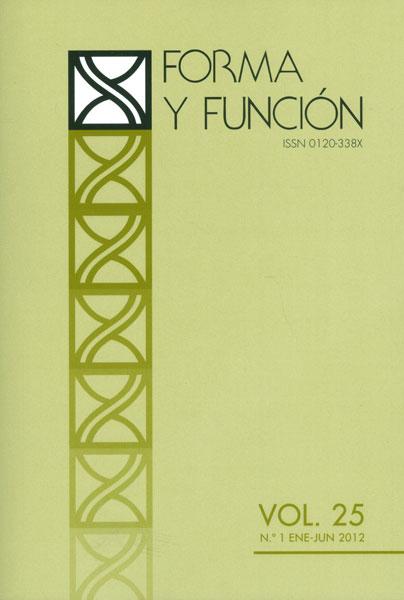 Forma y Función No. 25