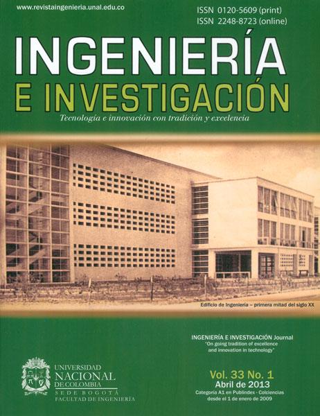 Ingeniería e Investigación Vol.33 No.1