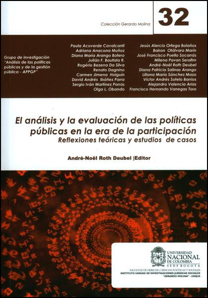 El análisis y la evaluación de las políticas públicas en la era de la participación: reflexiones teóricas y estudios de casos