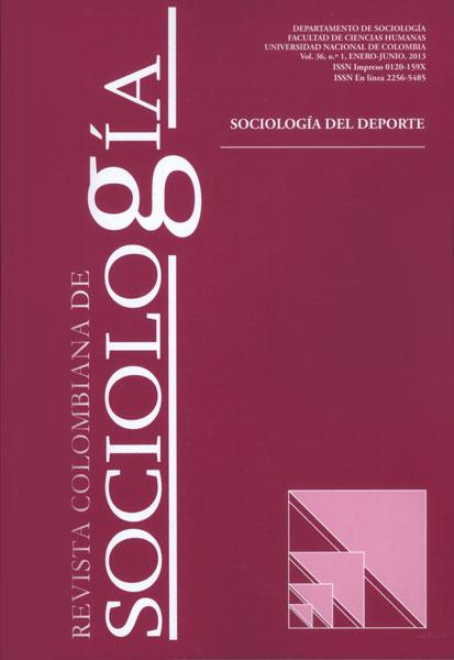 Revista Colombiana de Sociología Vol. 36 No. 1