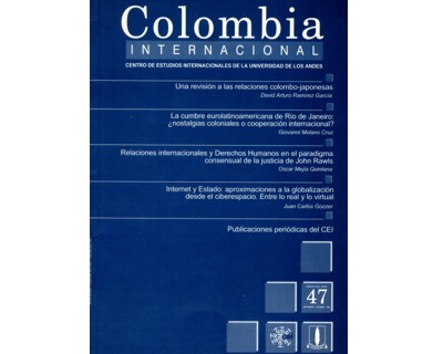 Colombia Internacional No. 47.