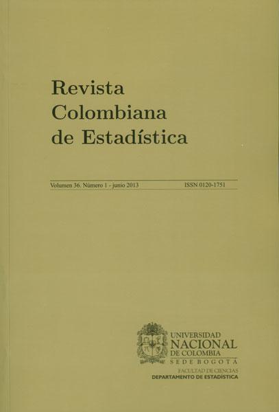 Revista Colombiana de Estadística. Vol. 36 No. 1