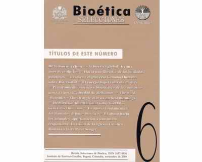 Selecciones de Bioética, No. 6.