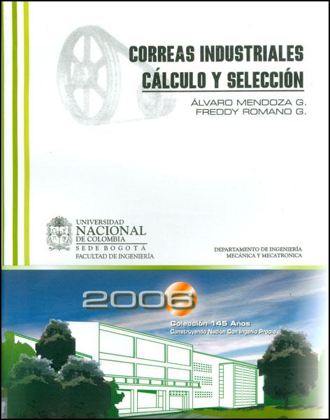 Correas industriales cálculo y selección