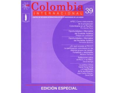 Colombia Internacional No. 39. (Edición especial)
