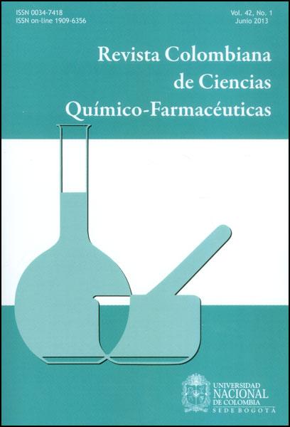 Revista colombiana de ciencias químico-farmacéuticas. Vol. 42. No.1