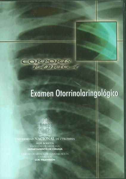 Examen otorrinolaringológico