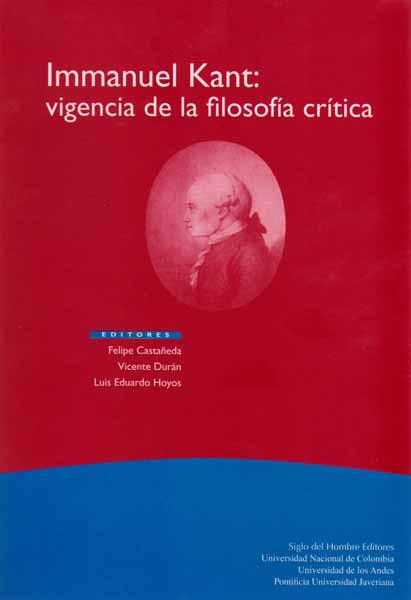 Immanuel Kant: Vigencia de la filosofía crítica