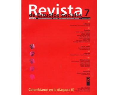 Revista de Estudios Sociales No. 07. Colombianos en la diáspora (I)