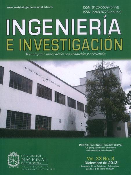 Ingeniería e Investigación Vol. 33 No. 3