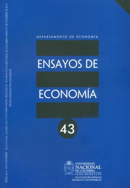 Ensayos de economía No. 43