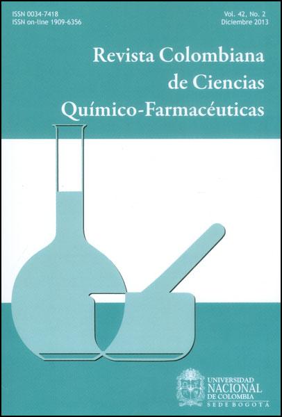 Revista colombiana de ciencias químico-farmacéuticas. Vol. 42. No.2