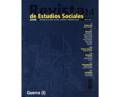 Revista de Estudios Sociales No. 14. Guerra (I)