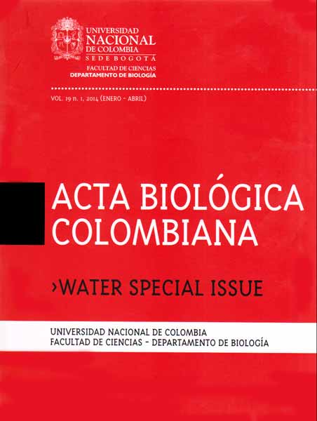 Acta biológica colombiana. Vol 19 No. 1