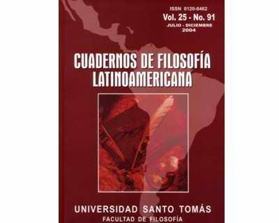 Cuadernos de Filosofía Latinoamericana No. 91