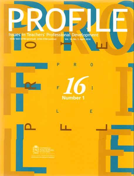 Profile. Issues in teachers professional development. Vol. 16 No. 1