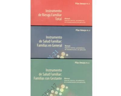 Serie Familia Colombiana: Tres instrumentos estandarizados (3 tomos)