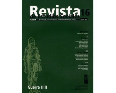 Revista de Estudios Sociales No. 16. Guerra (III)