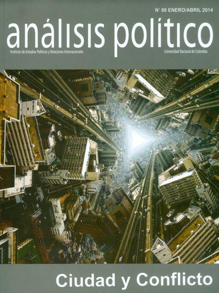 Análisis Político No. 80. Ciudad y conflicto